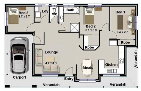 3 Bedroom House Plans Australian Homestead Houses 3 4 Bedroom 3 Bathroom House Plans Australia