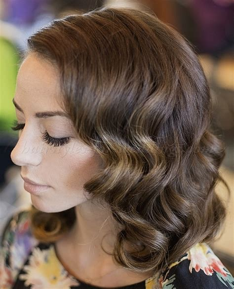 Wedding Hairstyles For Bridesmaids With Medium Length Hair by Shoulder Length Wedding Hairstyles Wavy Wedding