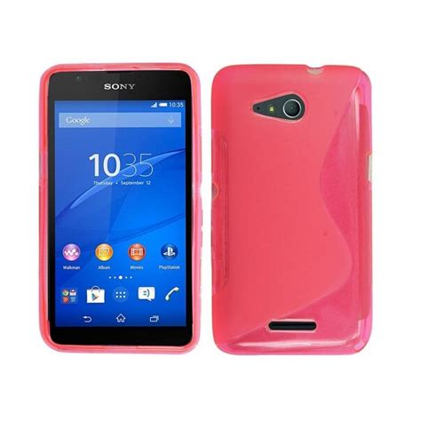 Protector With Stand For Sony Xperia E4 coque protection silicone sony xperia e4