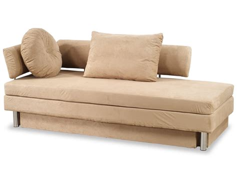 Nubo Khaki Microfiber Queen Size Sofa Bed By At Home Usa Sofa Bed Size
