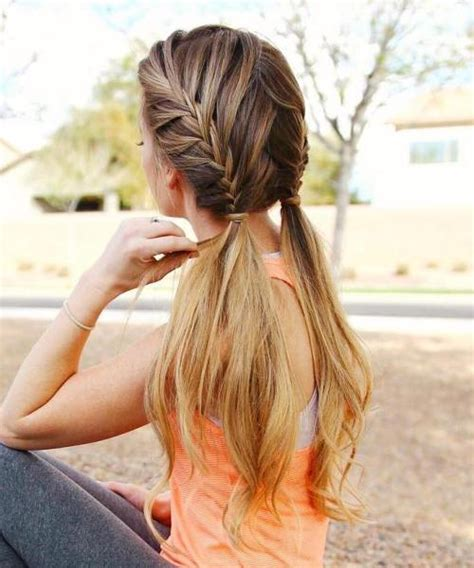 Sporty Hairstyles by 40 Best Sporty Hairstyles For Workout The Right Hairstyles