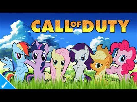 jayuzumi the celeb gamer my little pony plays cod ghosts youtube