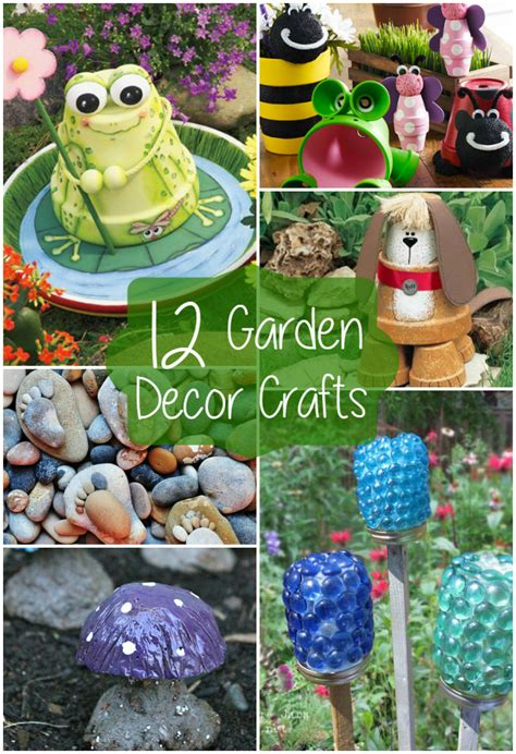 Craft Ideas For Garden Decorations 12 Garden Decor Crafts The Craftiest