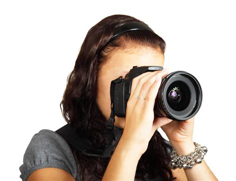 young female photographer   png image pngpix