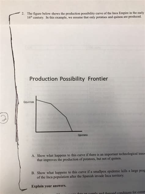In Drawing The Production Possibilities Curve We Assume That