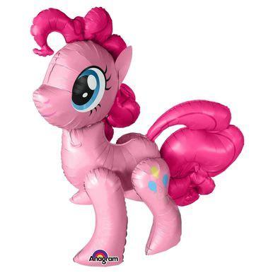 Balon Foil Jas Gaun Suit Gown pinkie pie my pony air walker occasion balloon