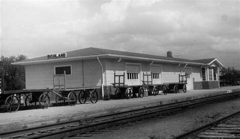 richland missouri depot the frisco a look back at