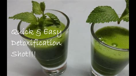 Coriander Detox Drink by Mint Coriander A Detoxification Drink