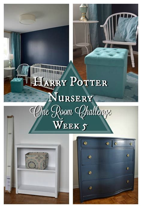 Our Harry Potter Nursery Finally Harry Potter Nursery One Room Challenge Week 5