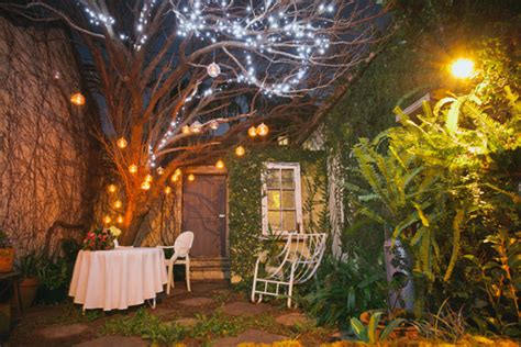 romantic backyard wedding brooke and john s romantic backyard wedding polka dot bride