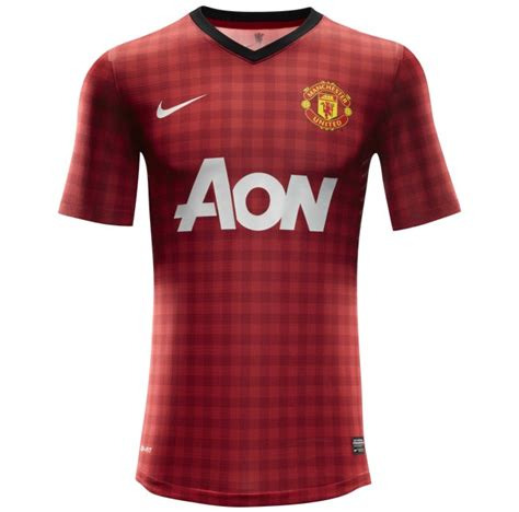 Jersey Manchester United Gk Home 11 12 utd unveil new 2012 13 home kit the gingham
