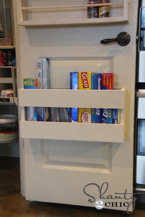 how to make a diy kitchen door organizer
