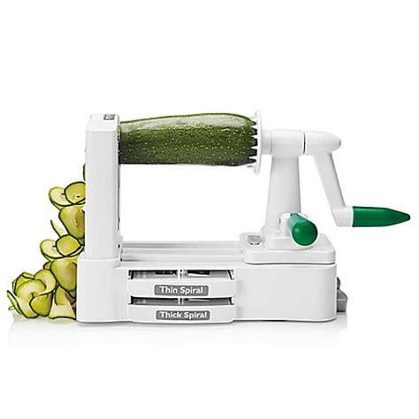bed bath and beyond as seen on tv veggetti 174 pro tabletop spiralizer vegetable cutter bed