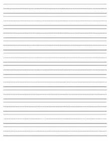 Primary Grade Writing Paper Best Photos Of Pdf Lined Writing Paper Printable Part 3