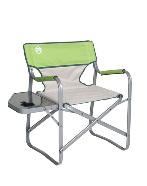 coleman folding chair with side table coleman directors chair with side table