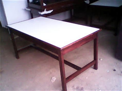 Kursi Lab Kayu jati furniture murah kursi dan meja sekolah