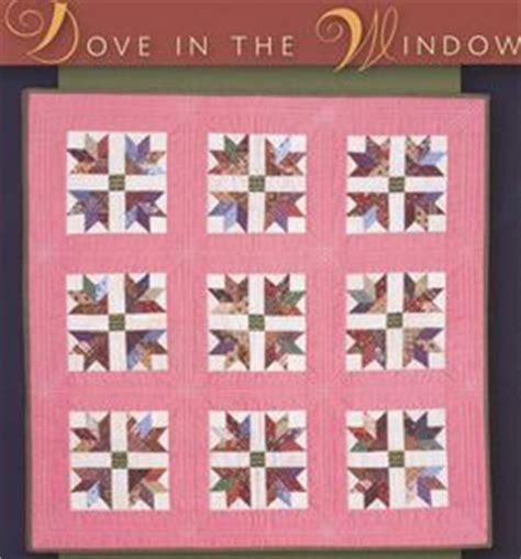 quilt pattern dove in the window flora botanica by barbara brackman