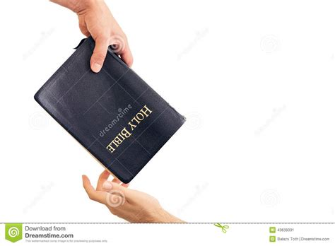 the bible to business credit how to get 50 000 in less than 6 months to build your business books giving out a bible stock photo image 43639331