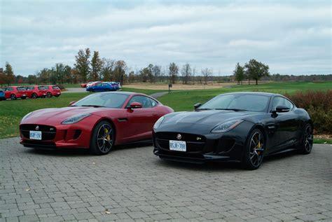 jaguar f type r black review 2015 jaguar f type r coupe canadian auto review