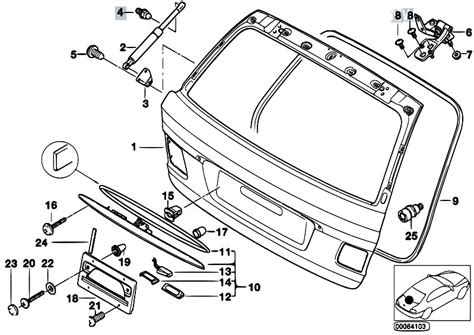 bmw e46 touring tailgate wiring diagram wiring diagram