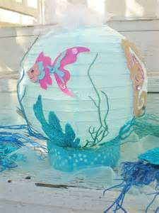 the sea table centerpiece or theme