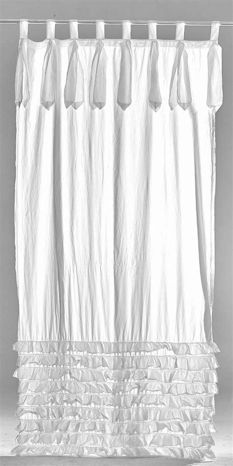 tende in cotone tenda arte pura con balze e laccetti in puro cotone i