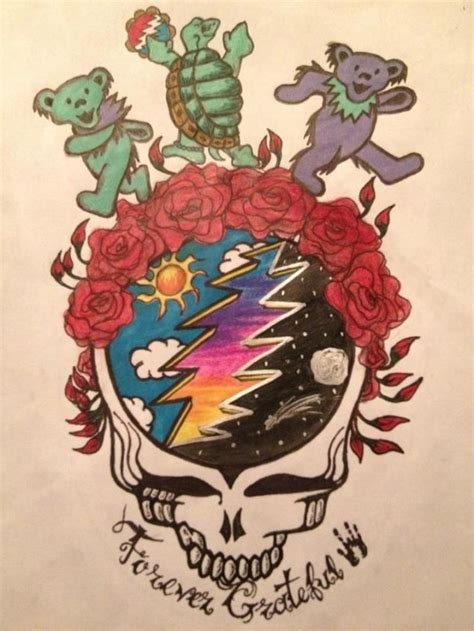 steal your face tattoo designs grateful dead would be a cool i wanna rock n