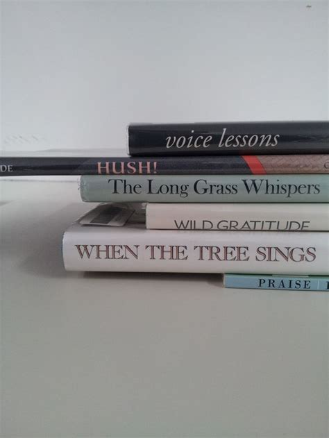 Voice lessons quot book spine poetry pinterest