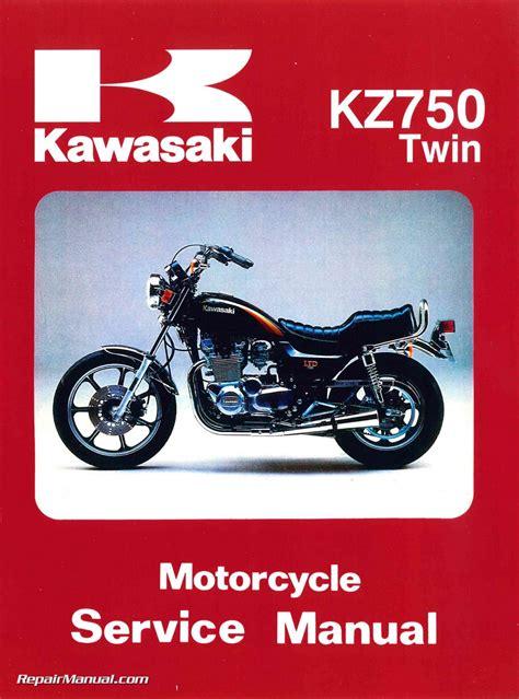 1979 1984 Kawasaki Kz750 Twin Cylinder Motorcycle Repair