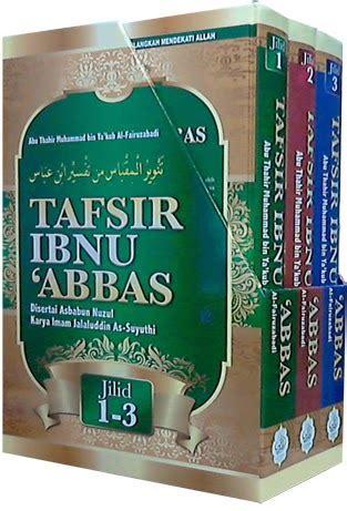 Tafsir Ibnu Abbas Jl 1 buku islamik diskaun tafsir ibnu abbas abu thahir
