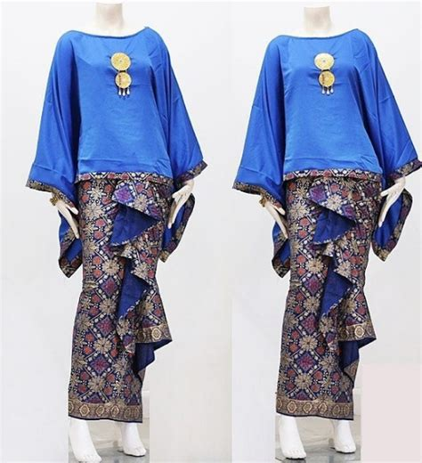 Batik Lilit Songket Prada update 100 model dress batik pasangan rok songket pendek
