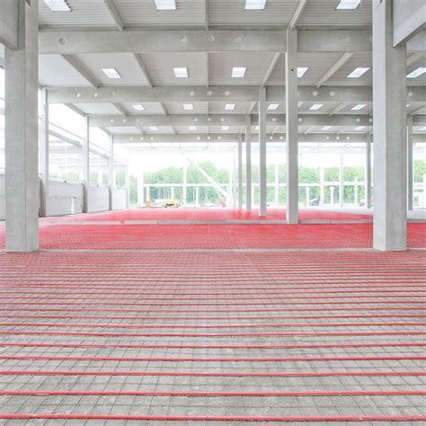 Industrial Floor Heating