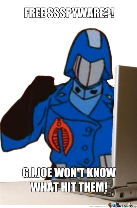 Cobra Commander Meme - cobra commander s first day by kazushige meme center