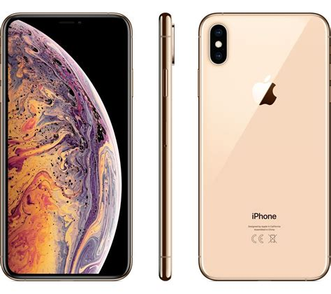 buy apple iphone xs max  gb gold  delivery currys