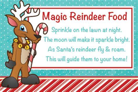 magic reindeer food poem template reindeer food ark country store