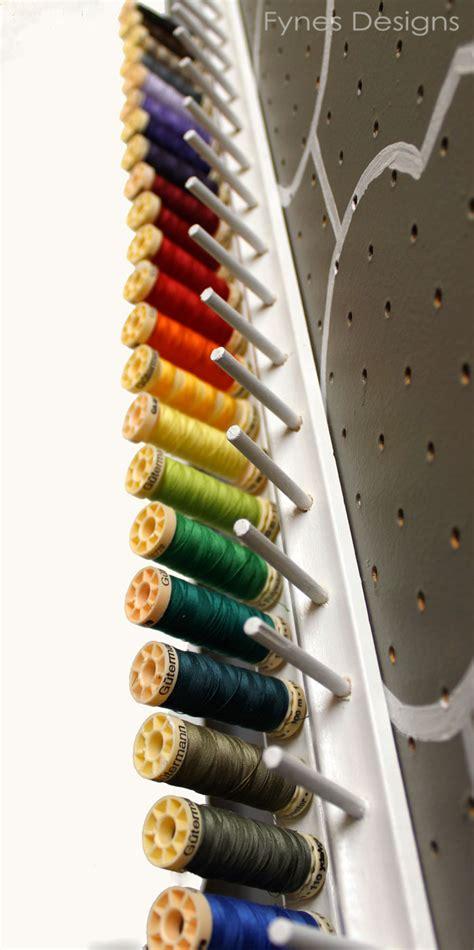 Diy Thread Rack by Diy Thread Storage Rack Fynes Designs Fynes Designs