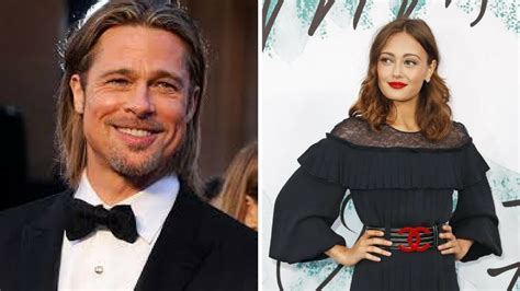 the girl who totaled brad brad pitt s 21 year old new girlfriend ella purnell