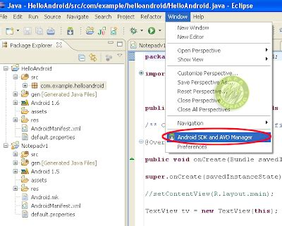 xp eclipse tutorial cara install android di windows xp tutorial android