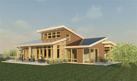 mountain modern sustainable home colorado evstudio