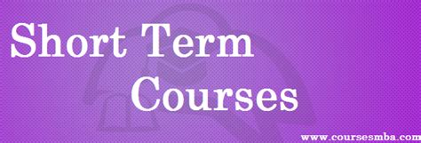 Term Courses Before Mba by Term Courses Coursesmba