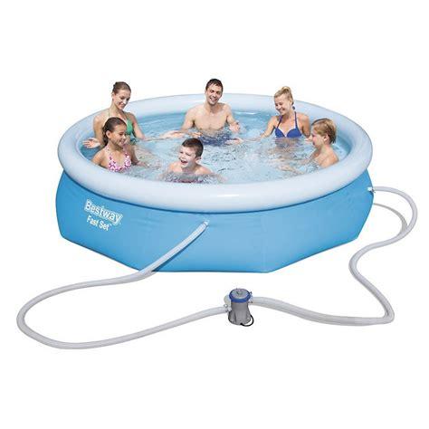 piscine da terrazzo prezzi bestway 57270 piscina fast set opinioni e prezzi