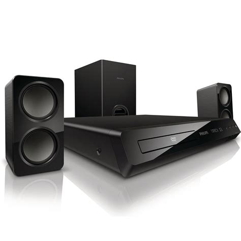 philips hts3201 12 dvd 2 1 home theatre system ebay