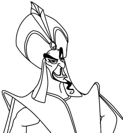 Coloriage Jafar gratuit à imprimer