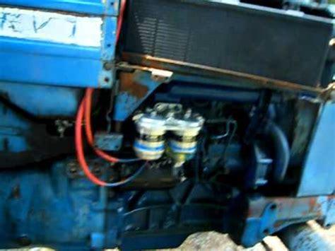 boat fuel line splitter ford 4000 3 cyl diesel youtube