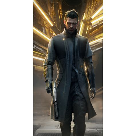 Vest Hoodie Deus Ex Mankind Divided deus ex mankind divided adam coat