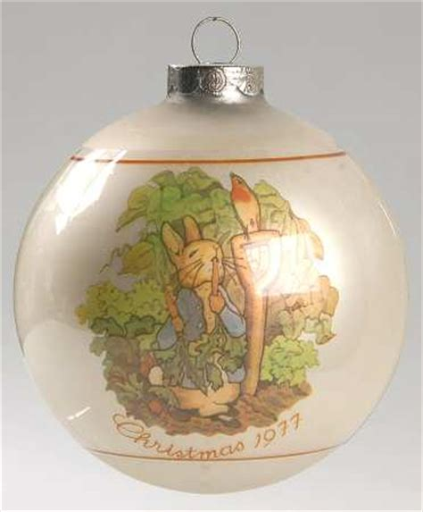 schmid beatrix potter annual christmas ornament at