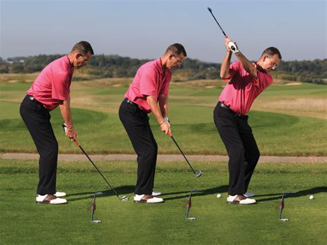 one plane golf swing takeaway how takeaway and swing path are linked golf monthly