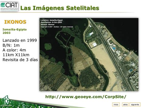 imagenes satelitales quickbird uso de imagenes satelitales en la aeps karolina argote