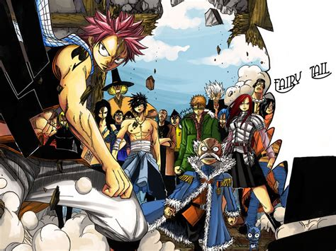 fairy tail anime anime wallpapers april 2011
