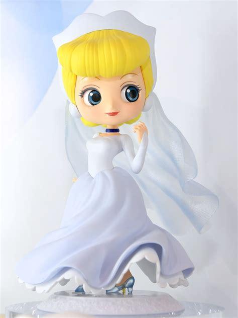 Qposket Disney Princess Cinderella ウェディングドレスの新シリーズにベルも登場 バンプレスト q posket disney characters dreamy style